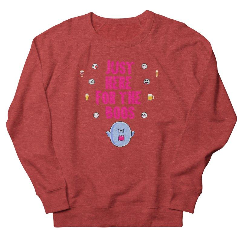 Here 4 Boos Men's French Terry Sweatshirt by DrinkIN GeekOUT's Artist Shop
