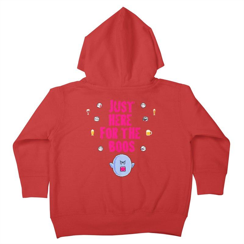 Here 4 Boos Kids Toddler Zip-Up Hoody by DrinkIN GeekOUT's Artist Shop