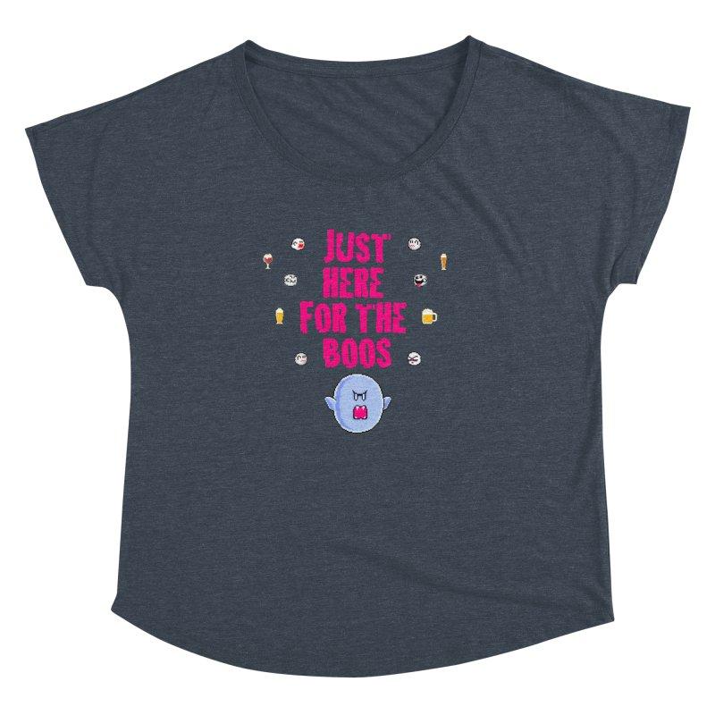 Here 4 Boos Women's Dolman Scoop Neck by DrinkIN GeekOUT's Artist Shop