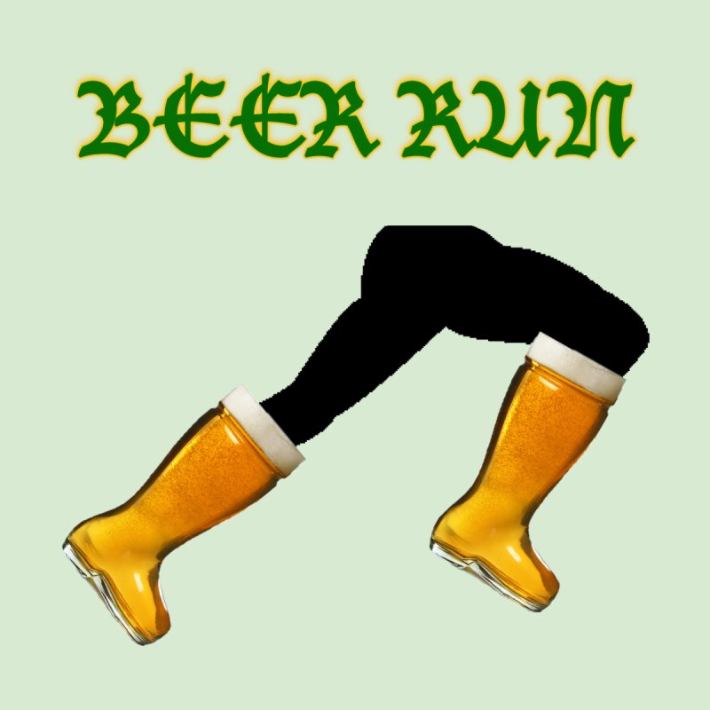 Beer Run by DrinkIN GeekOUT's Artist Shop
