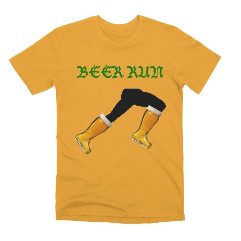 Beer Run Men's Premium T-Shirt by DrinkIN GeekOUT's Artist Shop