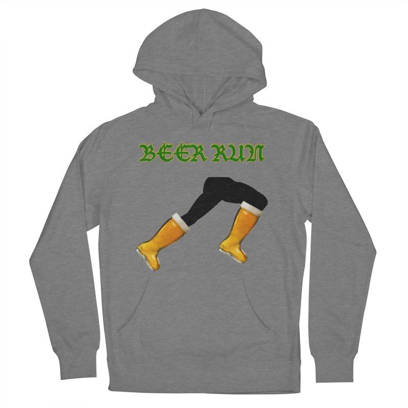Beer Run Women's French Terry Pullover Hoody by DrinkIN GeekOUT's Artist Shop