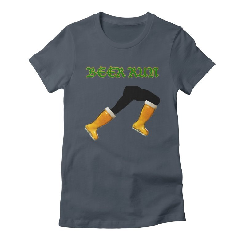 Beer Run Women's T-Shirt by DrinkIN GeekOUT's Artist Shop