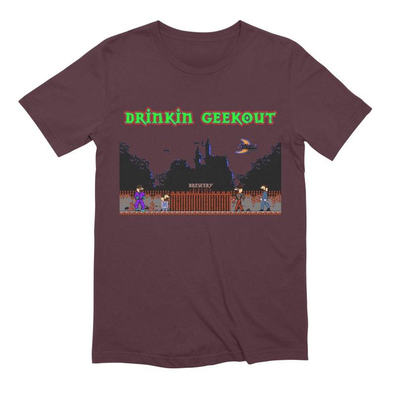 DiGovania Men's Extra Soft T-Shirt by DrinkIN GeekOUT's Artist Shop