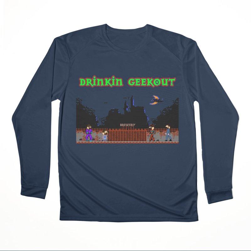 DiGovania Women's Performance Unisex Longsleeve T-Shirt by DrinkIN GeekOUT's Artist Shop
