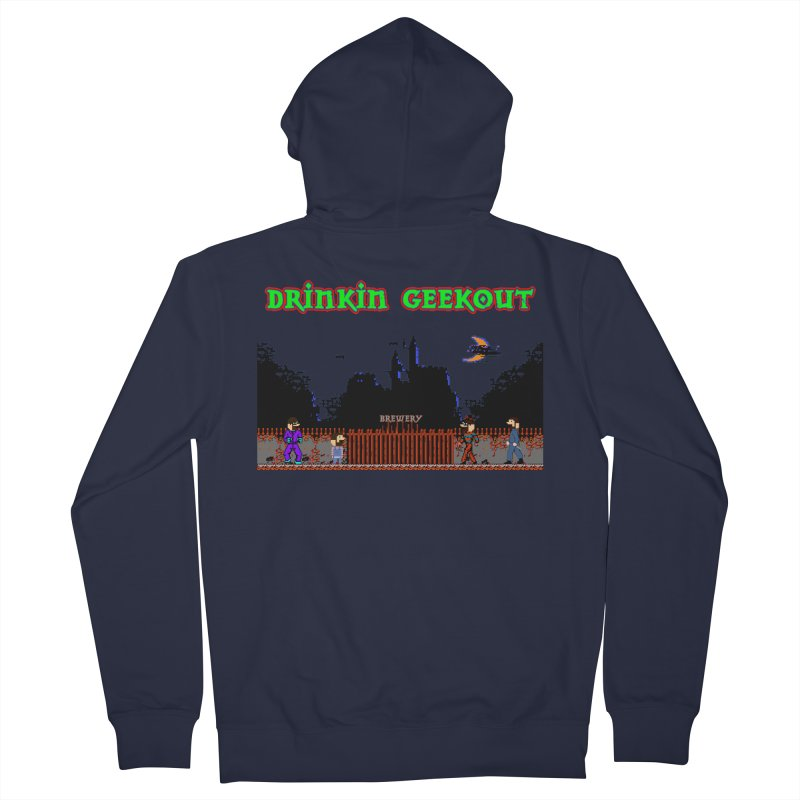 DiGovania Women's French Terry Zip-Up Hoody by DrinkIN GeekOUT's Artist Shop