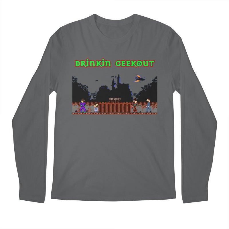 DiGovania Men's Regular Longsleeve T-Shirt by DrinkIN GeekOUT's Artist Shop