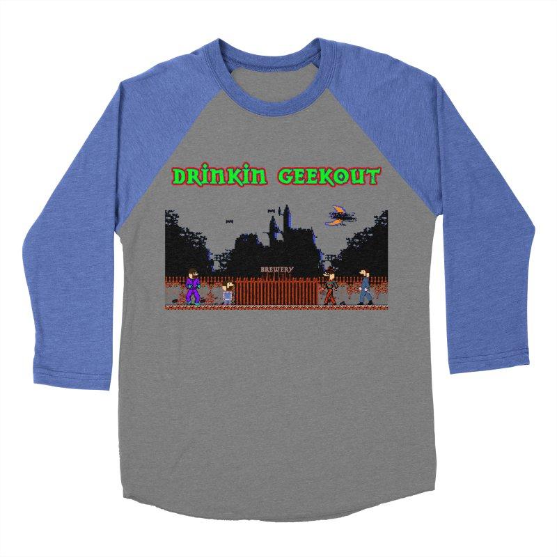 DiGovania Men's Baseball Triblend Longsleeve T-Shirt by DrinkIN GeekOUT's Artist Shop