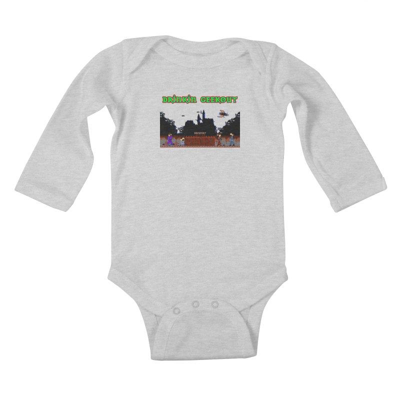 DiGovania Kids Baby Longsleeve Bodysuit by DrinkIN GeekOUT's Artist Shop
