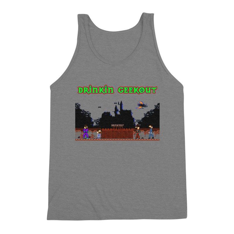 DiGovania Men's Triblend Tank by DrinkIN GeekOUT's Artist Shop