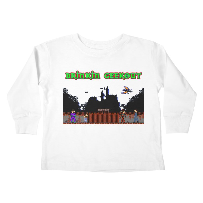 DiGovania Kids Toddler Longsleeve T-Shirt by DrinkIN GeekOUT's Artist Shop