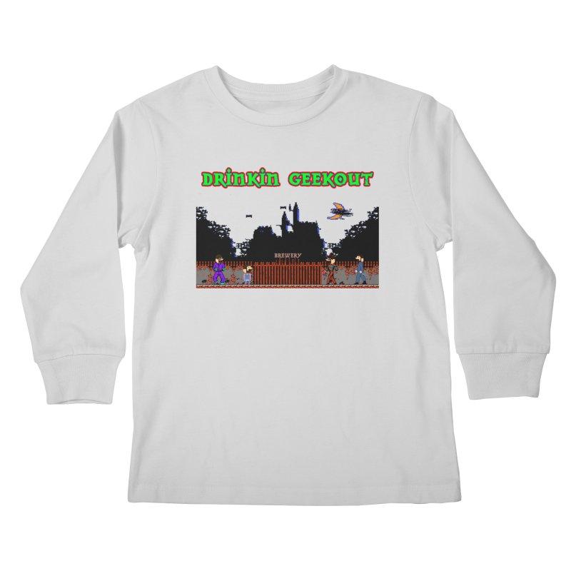 DiGovania Kids Longsleeve T-Shirt by DrinkIN GeekOUT's Artist Shop