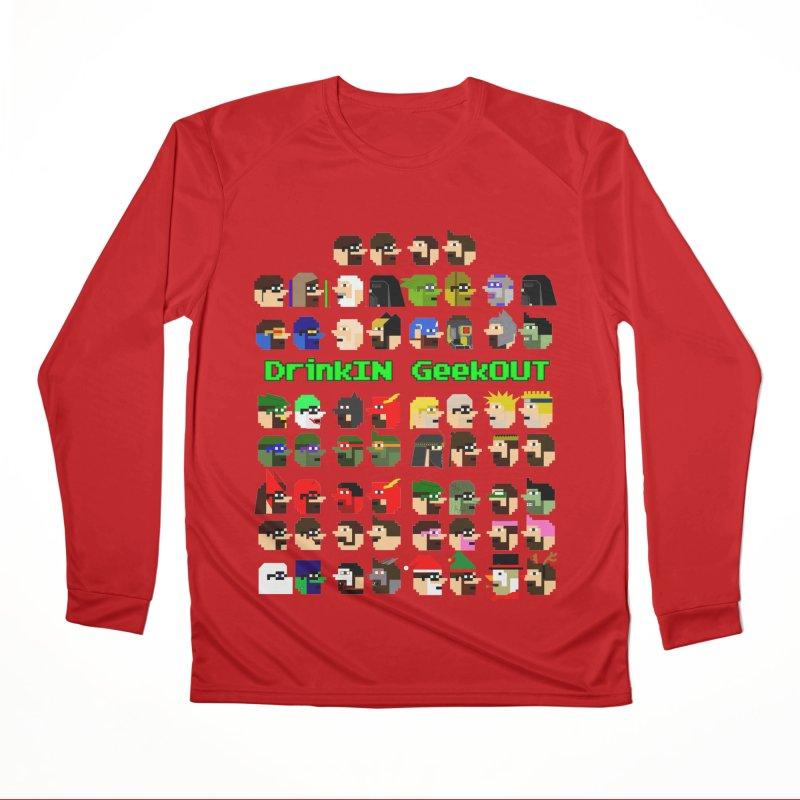 Many Heads Women's Performance Unisex Longsleeve T-Shirt by DrinkIN GeekOUT's Artist Shop