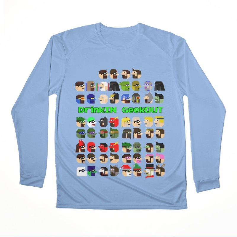 Many Heads Women's Longsleeve T-Shirt by DrinkIN GeekOUT's Artist Shop
