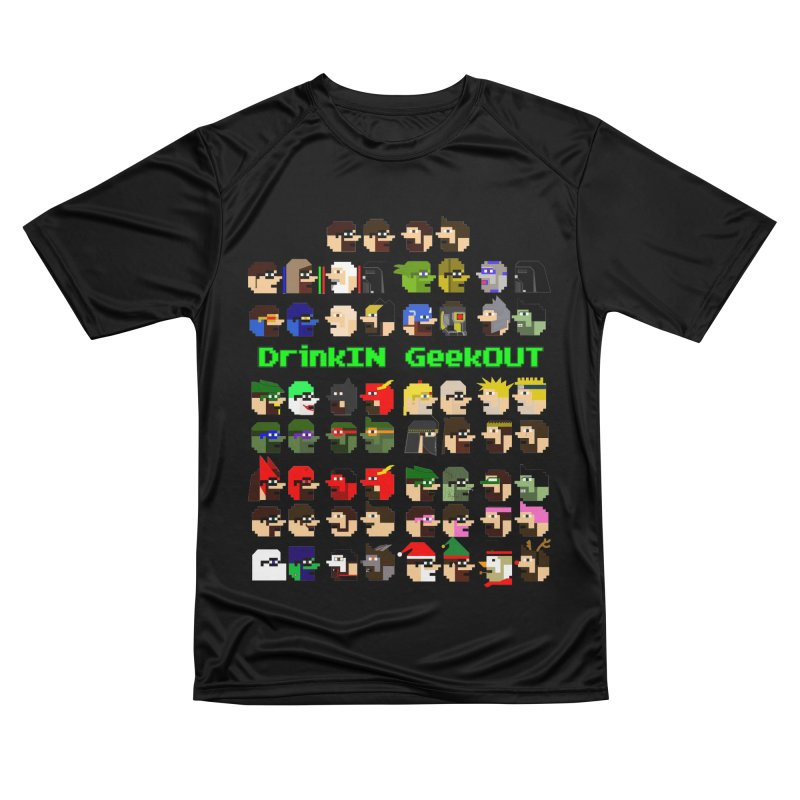 Many Heads Women's Performance Unisex T-Shirt by DrinkIN GeekOUT's Artist Shop