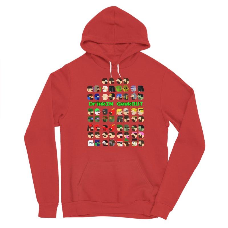 Many Heads Men's Pullover Hoody by DrinkIN GeekOUT's Artist Shop