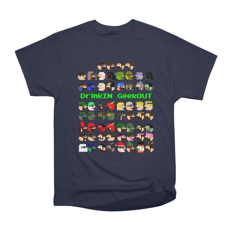 Many Heads Men's Heavyweight T-Shirt by DrinkIN GeekOUT's Artist Shop