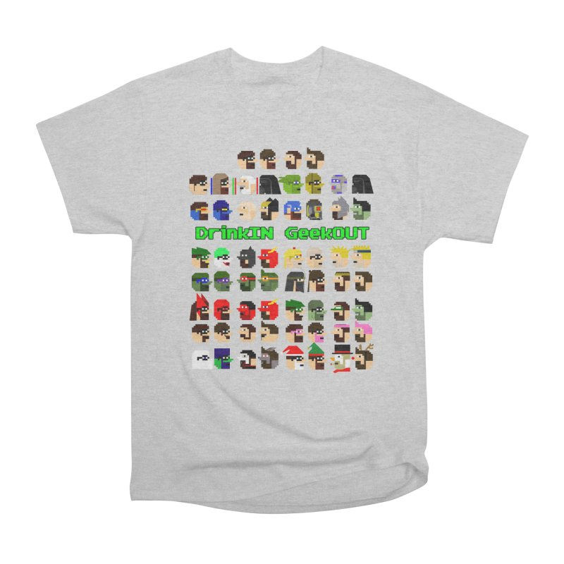 Many Heads Men's T-Shirt by DrinkIN GeekOUT's Artist Shop