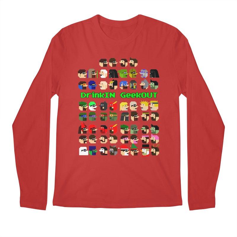 Many Heads Men's Regular Longsleeve T-Shirt by DrinkIN GeekOUT's Artist Shop