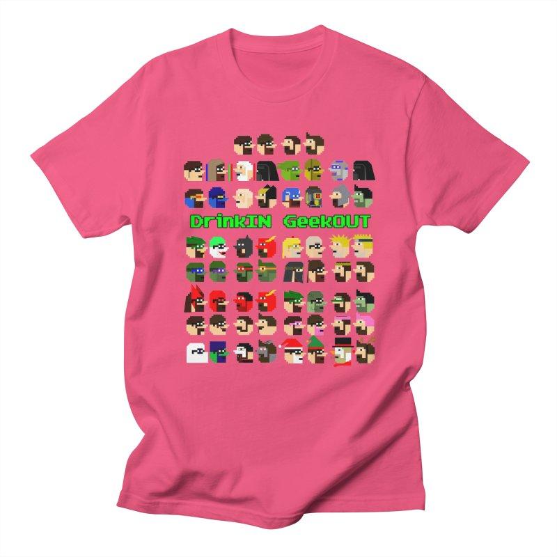 Many Heads Men's Regular T-Shirt by DrinkIN GeekOUT's Artist Shop