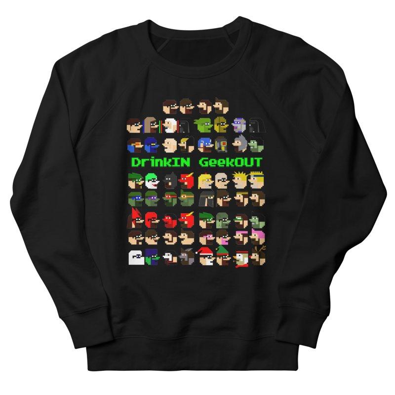 Many Heads Women's French Terry Sweatshirt by DrinkIN GeekOUT's Artist Shop