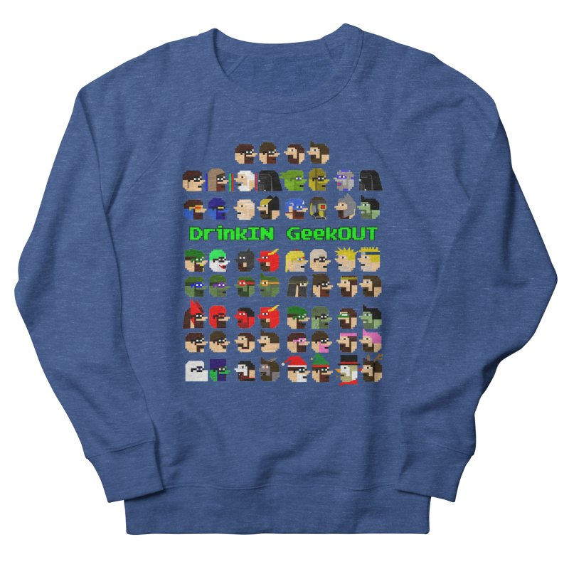 Many Heads Men's Sweatshirt by DrinkIN GeekOUT's Artist Shop