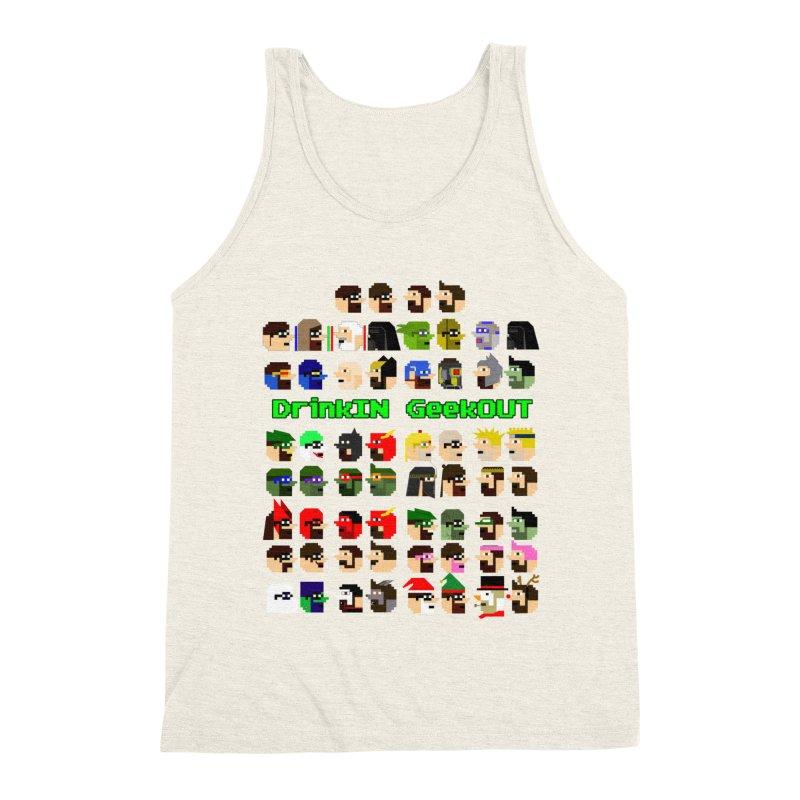 Many Heads Men's Triblend Tank by DrinkIN GeekOUT's Artist Shop