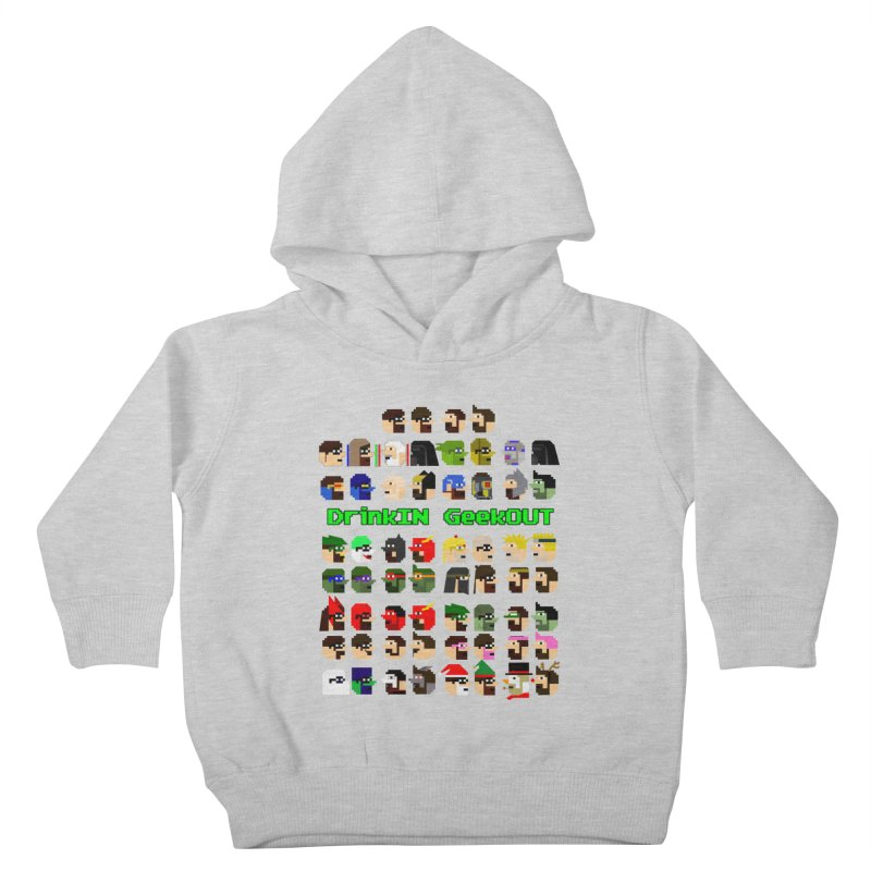 Many Heads Kids Toddler Pullover Hoody by DrinkIN GeekOUT's Artist Shop