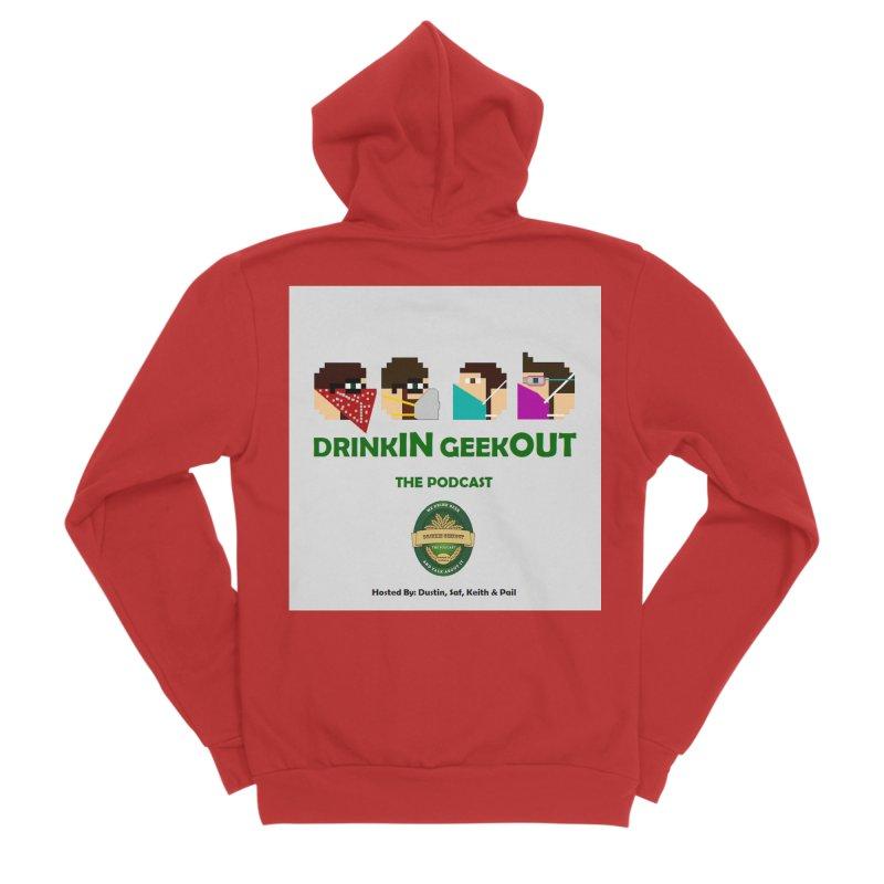Digo and PPE Men's Zip-Up Hoody by DrinkIN GeekOUT's Artist Shop