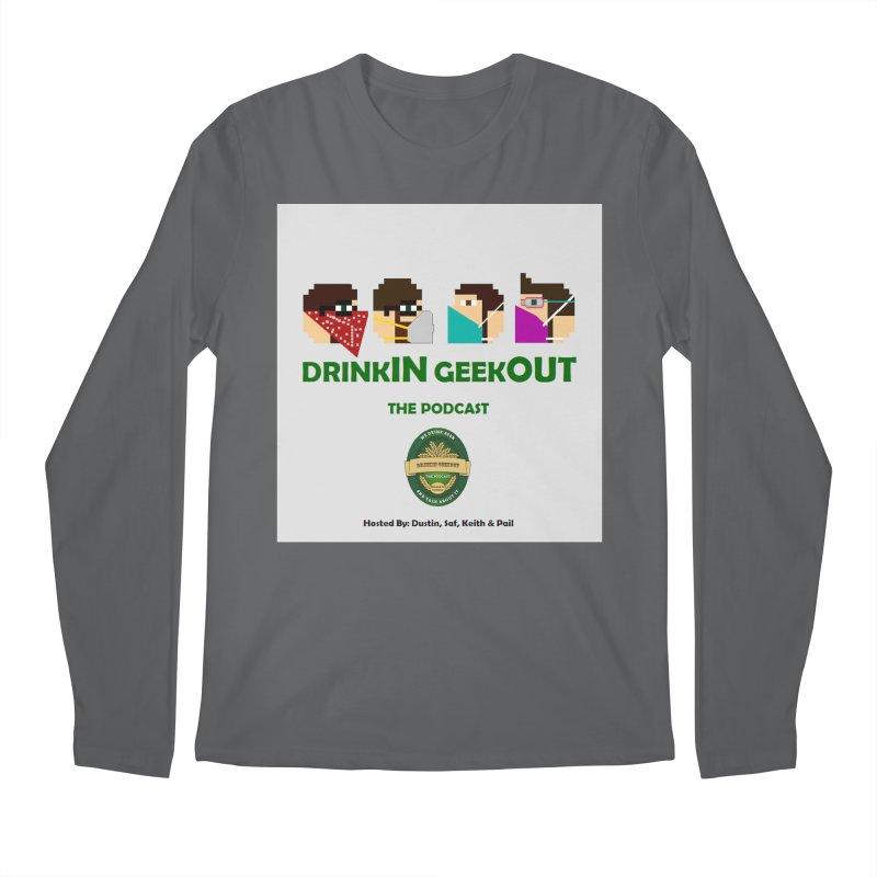 Digo and PPE Men's Longsleeve T-Shirt by DrinkIN GeekOUT's Artist Shop