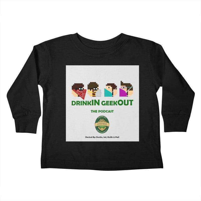 Digo and PPE Kids Toddler Longsleeve T-Shirt by DrinkIN GeekOUT's Artist Shop