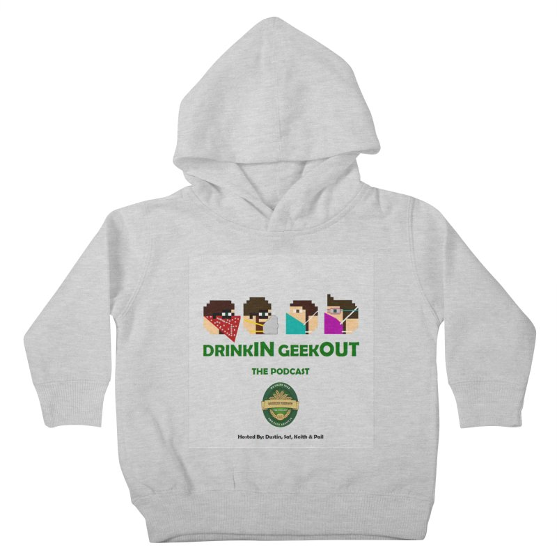 Digo and PPE Kids Toddler Pullover Hoody by DrinkIN GeekOUT's Artist Shop