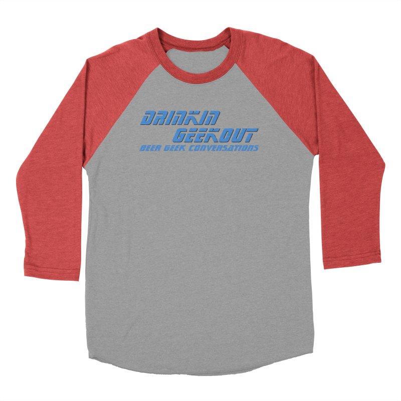 DrinkIN GeekOUT: Beer Geek Conversations Men's Longsleeve T-Shirt by DrinkIN GeekOUT's Artist Shop