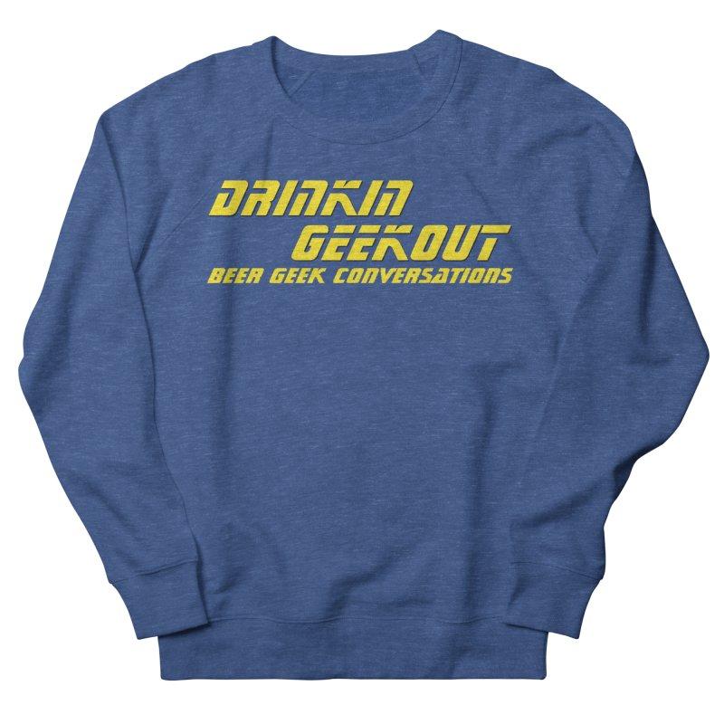 DiGo Trek (Yellow) Men's Sweatshirt by DrinkIN GeekOUT's Artist Shop