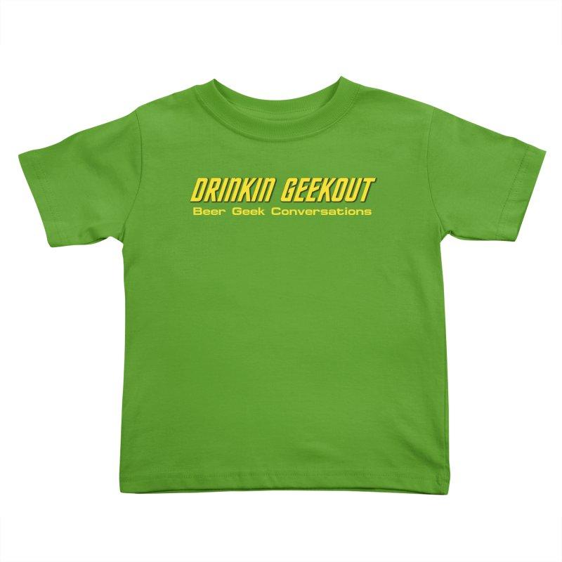 DiGo Trek (TOS) Kids Toddler T-Shirt by DrinkIN GeekOUT's Artist Shop