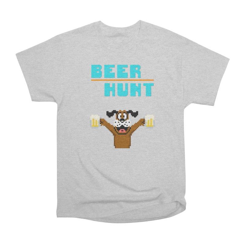Beer Hunt Dog Men's T-Shirt by DrinkIN GeekOUT's Artist Shop