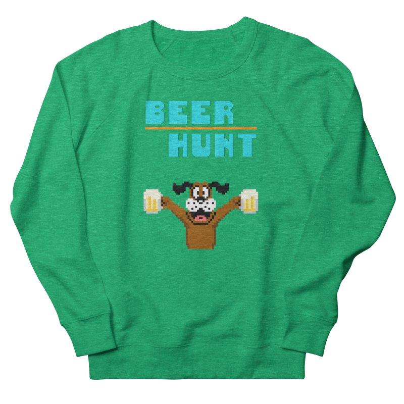 Beer Hunt Dog Women's Sweatshirt by DrinkIN GeekOUT's Artist Shop