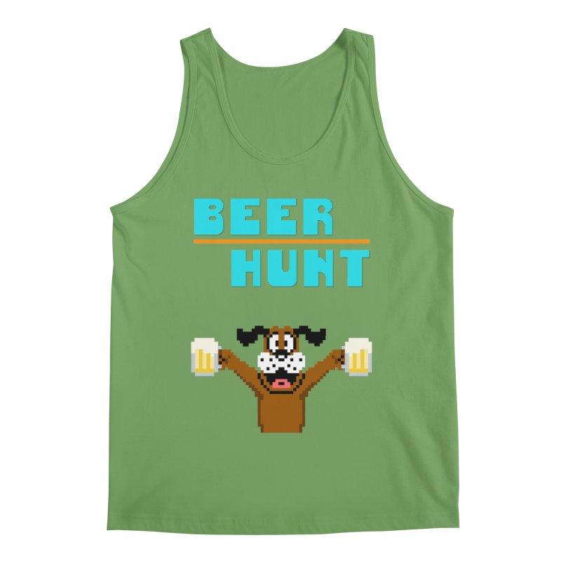Beer Hunt Dog Men's Tank by DrinkIN GeekOUT's Artist Shop