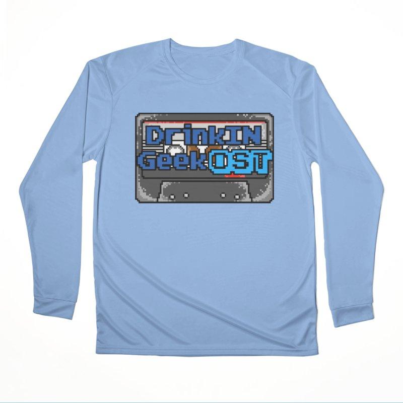 DrinkIN GeekOST Tape Men's Longsleeve T-Shirt by DrinkIN GeekOUT's Artist Shop