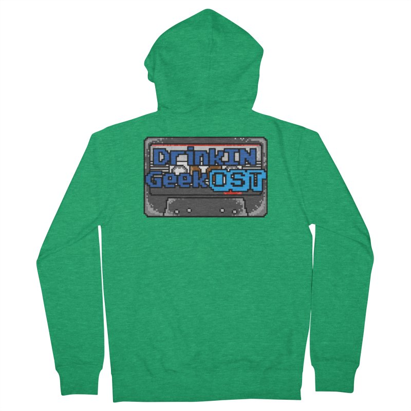 DrinkIN GeekOST Tape Women's Zip-Up Hoody by DrinkIN GeekOUT's Artist Shop