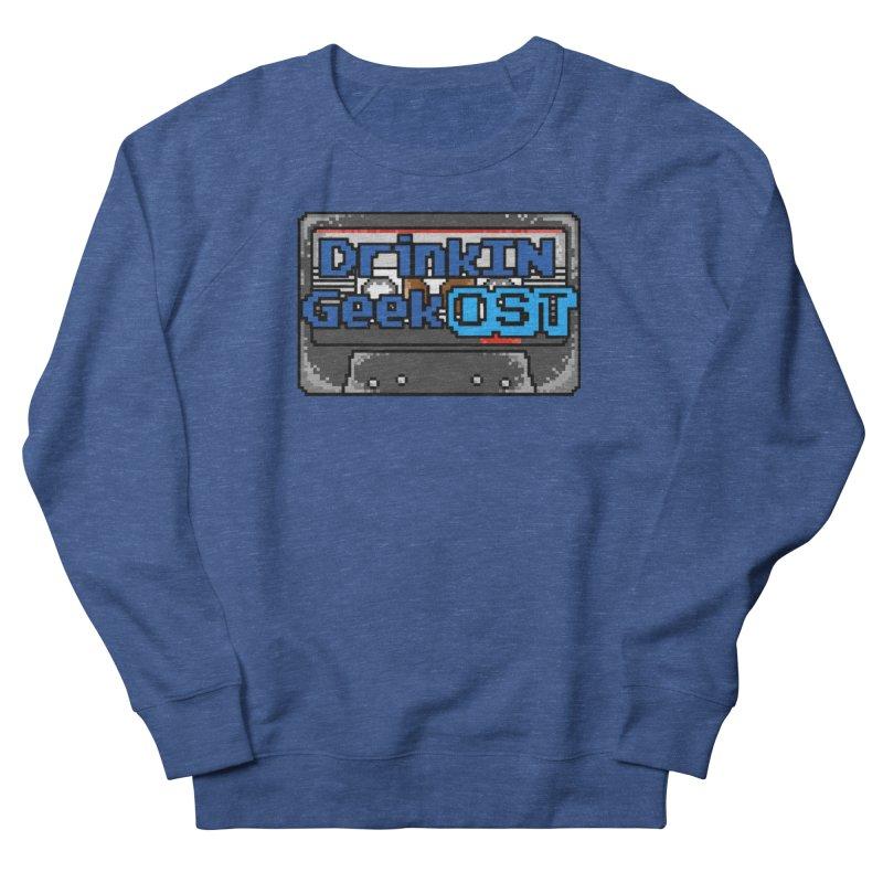 DrinkIN GeekOST Tape Men's Sweatshirt by DrinkIN GeekOUT's Artist Shop