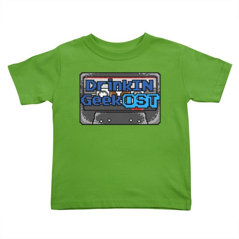 DrinkIN GeekOST Tape Kids Toddler T-Shirt by DrinkIN GeekOUT's Artist Shop