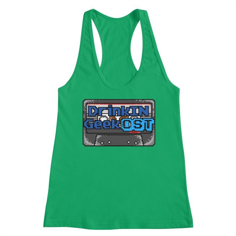 DrinkIN GeekOST Tape Women's Tank by DrinkIN GeekOUT's Artist Shop
