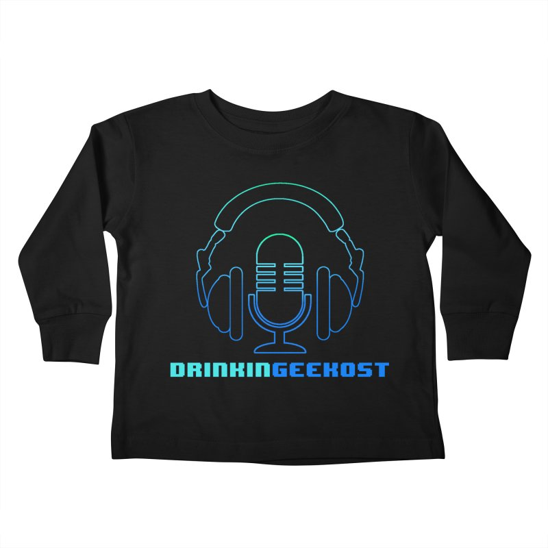 OST Kids Toddler Longsleeve T-Shirt by DrinkIN GeekOUT's Artist Shop