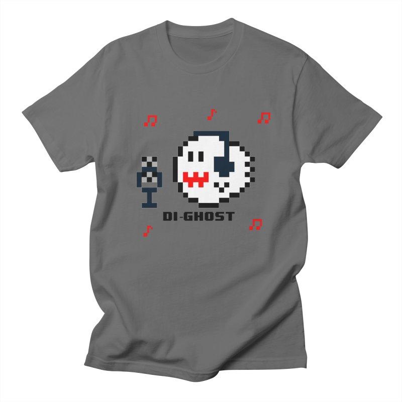 DiGhost Men's T-Shirt by DrinkIN GeekOUT's Artist Shop