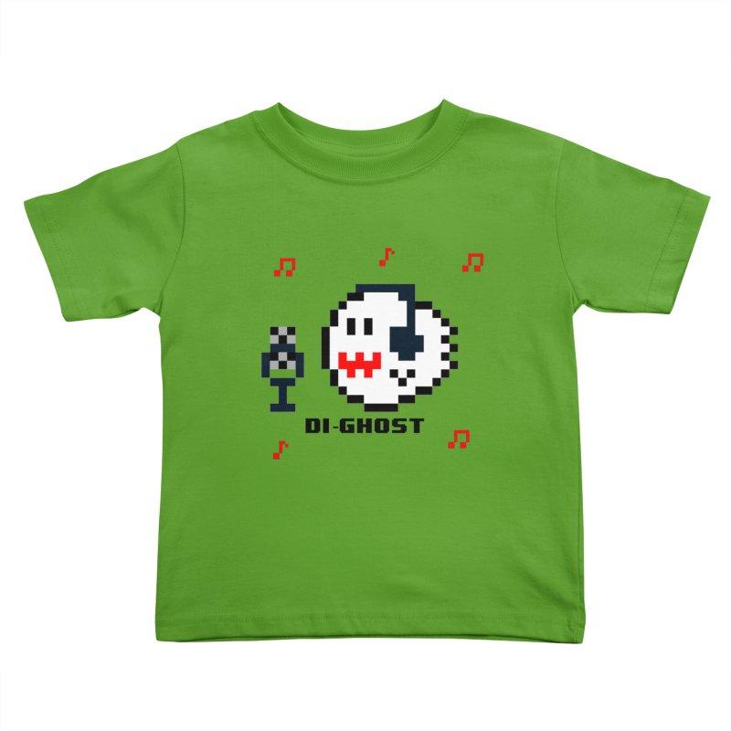 DiGhost Kids Toddler T-Shirt by DrinkIN GeekOUT's Artist Shop