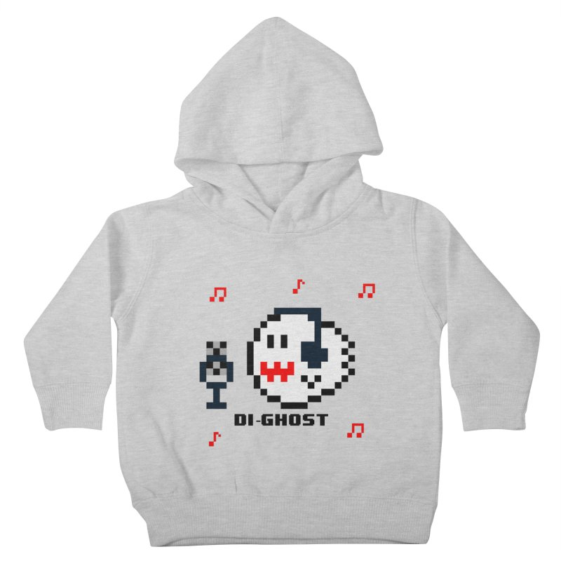 DiGhost Kids Toddler Pullover Hoody by DrinkIN GeekOUT's Artist Shop