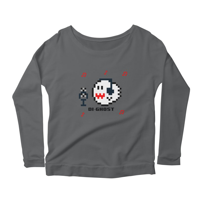 DiGhost Women's Longsleeve T-Shirt by DrinkIN GeekOUT's Artist Shop