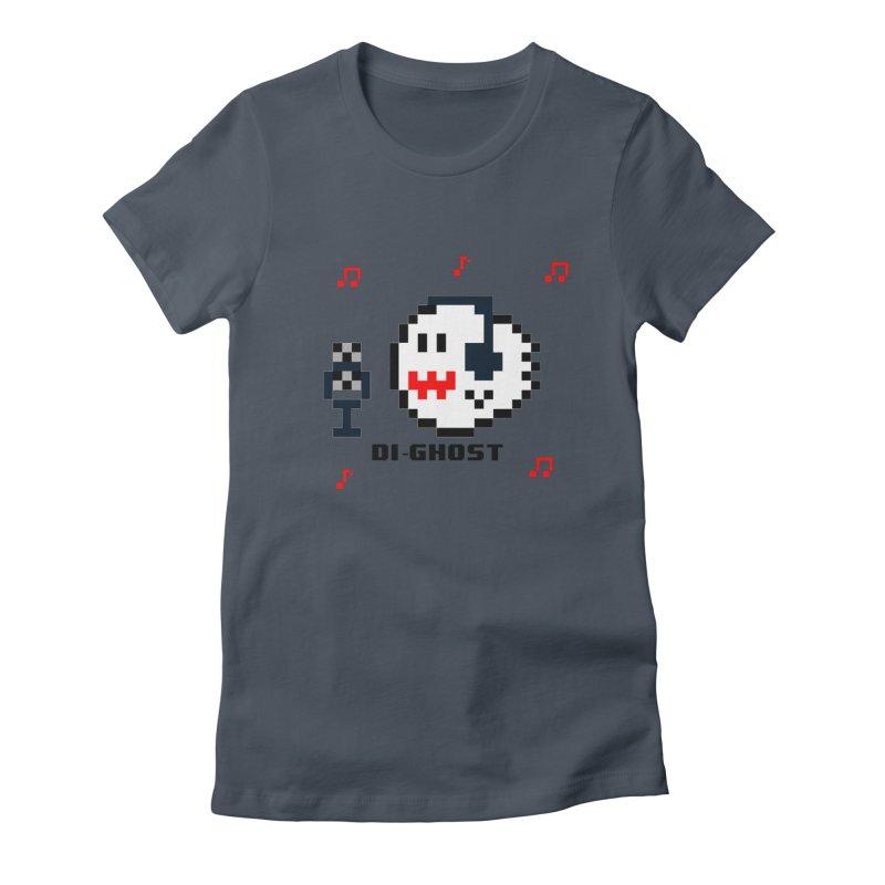DiGhost Women's T-Shirt by DrinkIN GeekOUT's Artist Shop