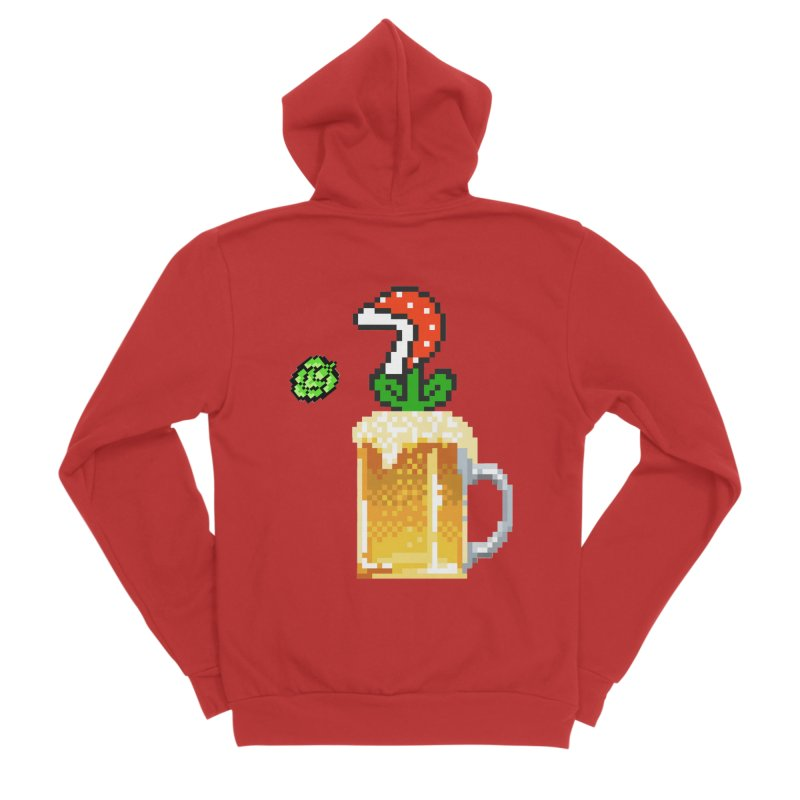 Beeranha Plant Women's Zip-Up Hoody by DrinkIN GeekOUT's Artist Shop